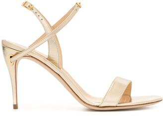 Jennifer Chamandi Tommaso sling-back sandals