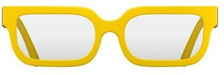 Newgate Icy Readers Matte Yellow 3