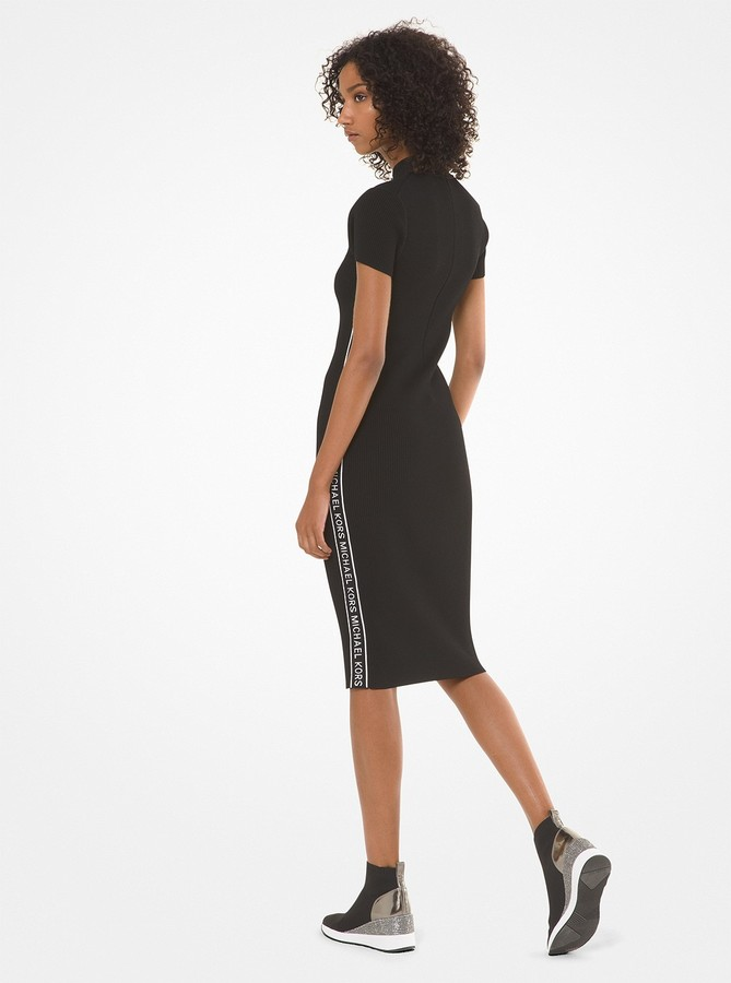 735655a726 Michael Kors Ribbed Dress - ShopStyle