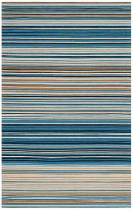Safavieh Marbella Collection MRB289 Rug, Blue/Multi, 9' X 12'