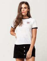 Vans Ready For The Show Womens Ringer Tee