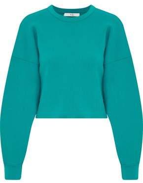 Tibi Cropped French Terry Sweatshirt