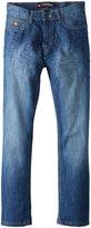 Southpole Men's 6181 Regular Straight Fit Shiny Streaky In, Medium S& Blue, 34X34
