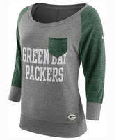 Nike Women's Green Bay Packers Vintage Crew Long Sleeve T-Shirt