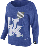 Nike Women's Kentucky Wildcats Gym Vintage Pocket Crew Fleece