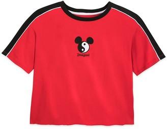 Disney Mickey Mouse Icon Yin and Yang Fashion T-Shirt for Women Disneyland