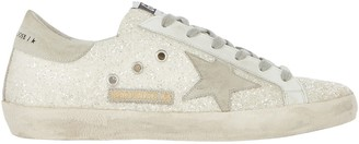Golden Goose Superstar Low-Top Glitter Sneakers