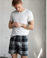 Express heather cotton flannel boxers