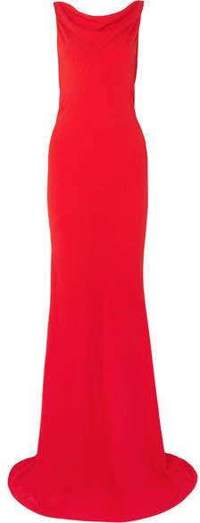 Gareth Pugh Crepe Gown - Red