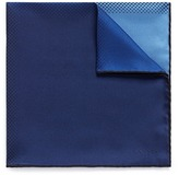 Lanvin Colourblock gradient print silk twill pocket square