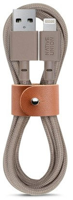 Native Union BELT lightning charging cable Taupe