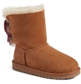 Girl's Ugg Meilani Dots Boot With Genuine Shearling