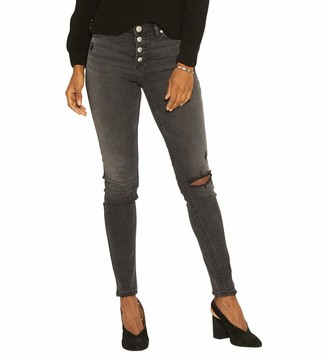 Silver Jeans Co. Women's Robson High-Rise Slim-Fit Jeggings
