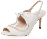 LK Bennett Lois Leather Slingback Sandal