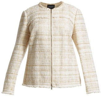 Lafayette 148 New York, Plus Size Dash Artful Tweed Jacket