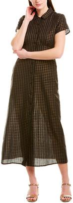 Corey Lynn Calter Metallic Midi Dress