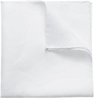 Eton Men's Solid Linen Pocket Square