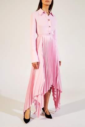 KHAITE The Charlotte Skirt in Tulip