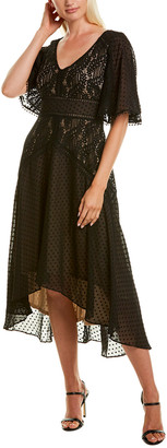 Taylor Lace Bodice Midi Dress