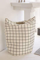 Urban Outfitters Grid Standing Laundry Bag Hamper
