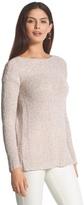 Chico's Sequin Shine Maya Sweater