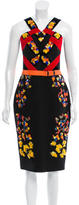 Peter Pilotto Lera Wool Dress w/ Tags
