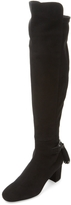 LK Bennett L.K.Bennett Women's Camille Suede Over The Knee Boot