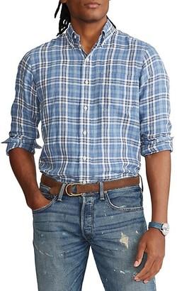 Polo Ralph Lauren Long-Sleeve Plaid Sport Shirt