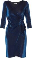 Thumbnail for your product : Gina Bacconi Brita Metallic Jersey Dress, Royal Blue