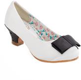 China Doll White Coco Dress Shoe