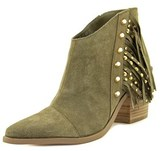 Fergie Bennie Pointed Toe Leather Ankle Boot.