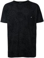 Roar floral print chest pocket T-shirt