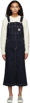 Carhartt Work In Progress Navy Bib Skirt Dress