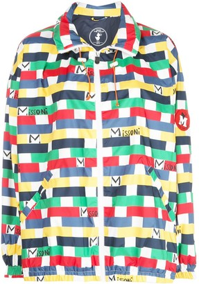 M Missoni Tile Print Jacket