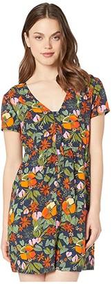 Vans Songwriter Dress (Multi Tropic) Women's Clothing