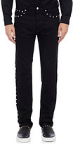 Givenchy Men's Studded Slim Jeans-BLACK
