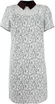 MICHAEL Michael Kors floral lace collared dress - women - Cotton/Nylon/Polyester/Viscose - 2