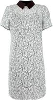 MICHAEL Michael Kors floral lace collared dress - women - Cotton/Nylon/Polyester/Viscose - 4