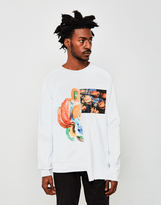 Soulland Fenriz Hybrid Sweatshirt White