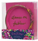 Lilly Pulitzer Dance On Tables Ceramic Wine Coaster