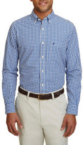 Nautica Long Sleeve Gingham Shirt
