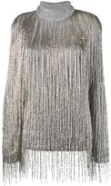 Valentino beaded fringe oversized jumper