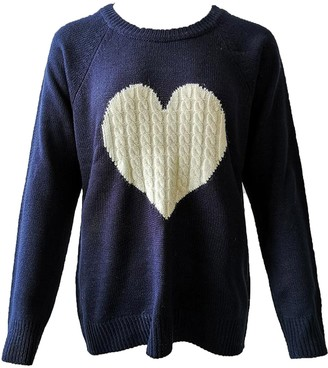 Goodnight Macaroon 'Elina' Cable Knit Heart Crew Neck Sweater (3 Colors)