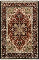 Ecarpetgallery eCarpet Gallery 189086 Royal Heriz Dark Red Traditional Rug
