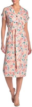 Yumi Kim Secret Love Printed Waist Tie Dress