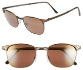 Maui Jim Men's 'Stillwater' 52Mm Polarized Sunglasses - Antique Gold/hcl Bronze