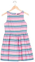 Polo Ralph Lauren Girls' Striped Sleeveless Dress