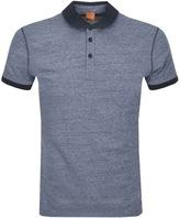 BOSS ORANGE Performer Polo T Shirt Navy