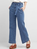 Gap Super high rise wide-leg trousers