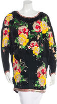 Matthew Williamson Embroidered Tunic Top